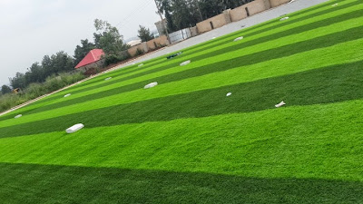 Photos; Kanu Nwankwo Set For Completion Of His Football Academy