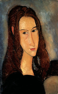 Portrait of Jeanne Hébuterne, Modigliani