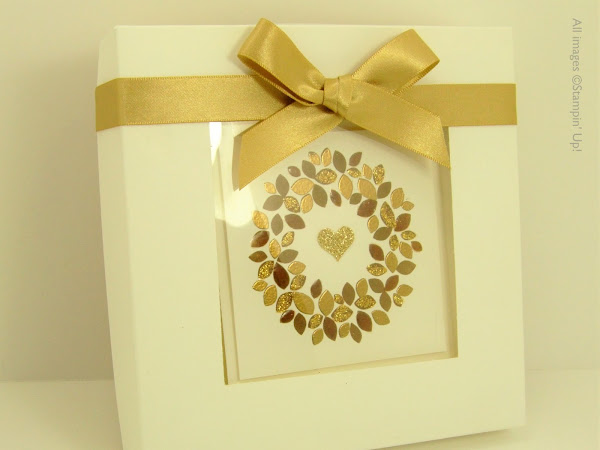 Wonderous Wreath Card Box