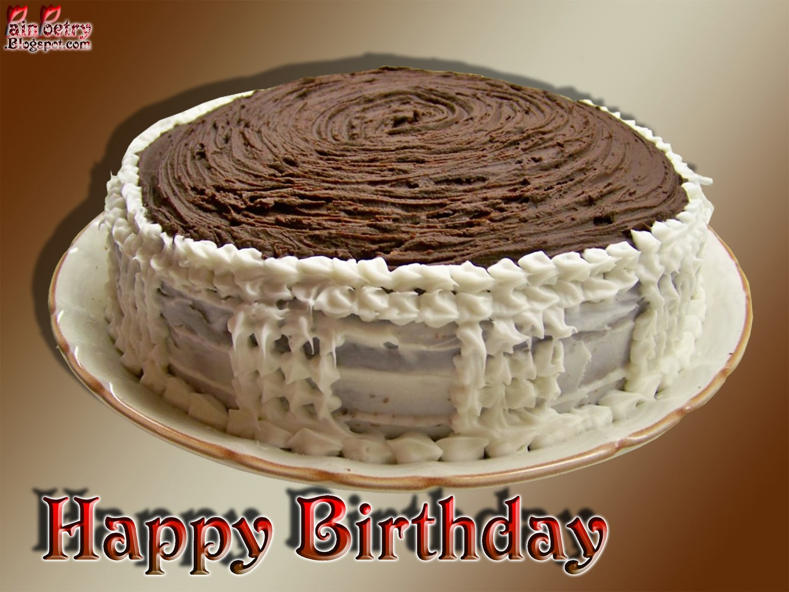 Happy-Birthday-Cake-With-Cream-And-Chocolate-Image-HD