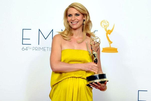 Claire Danes ('Homeland') Emmys 2012
