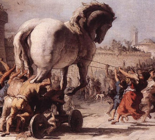 Retired in Delaware: Trojan Horse
