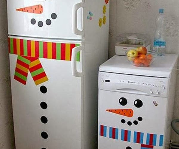 8 creative handmade decorating ideas for refrigerator for Creative ideas for home decor