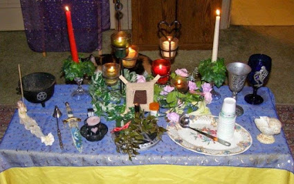 Midsummer/Litha Altar