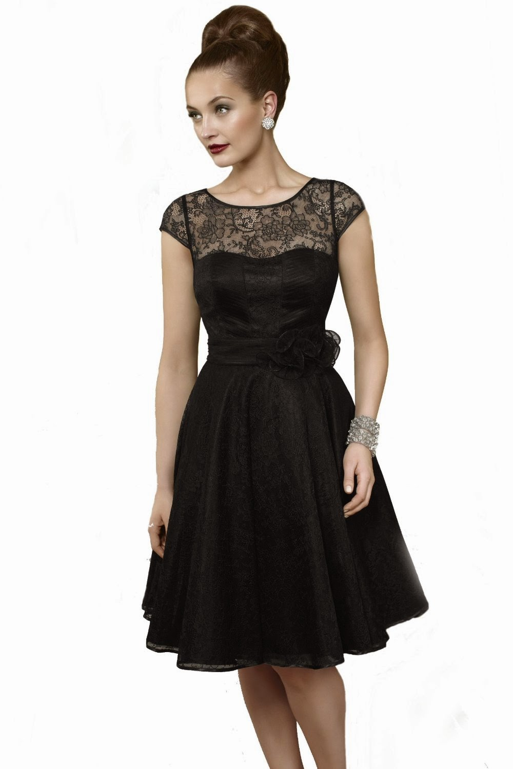 Short Black Dresses style prom dress|Gown You