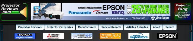 Projector Reviews at ProjectorReviews.com