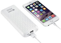 Buy Zoook ZP-PB10DA Mobile Portable Powerbank / Battery Backup (White) 10000 mAh at Lowest Price Rs. 799 (Apps offer): BuyToEarn