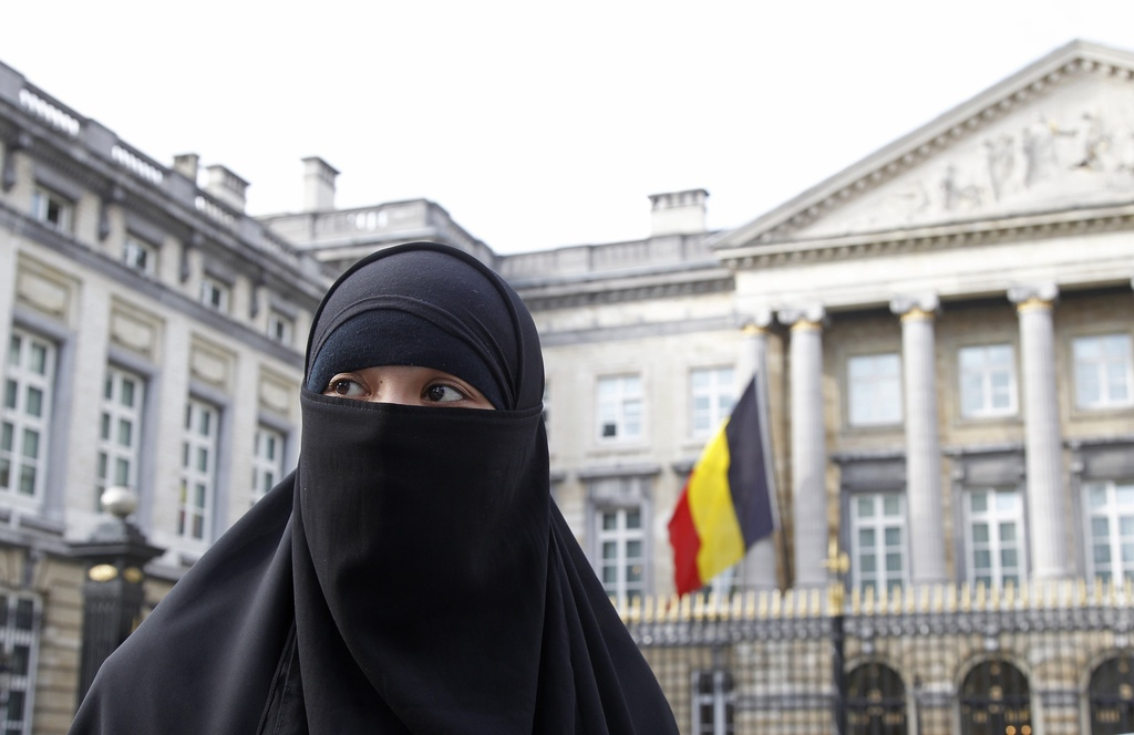 Image result for Belgium ban on burqas