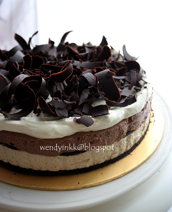 Chocolate Chestnut Torte With Chocolate Cognac Mousse Recipe ...