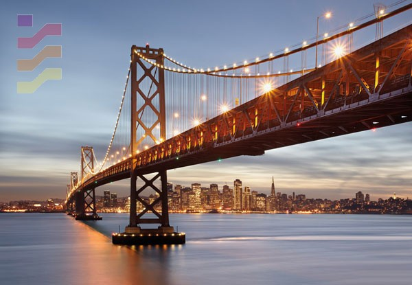 fototapeta most, miasto