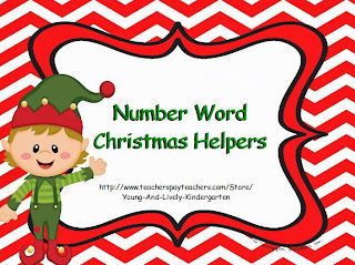http://www.teacherspayteachers.com/Product/Number-Word-Christmas-Helpers-1003474