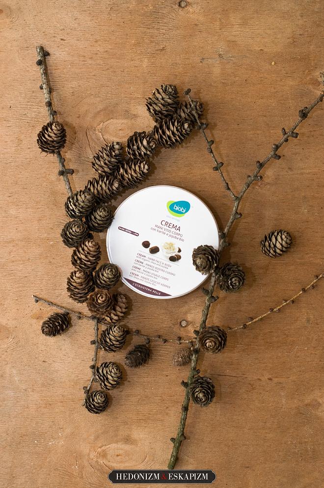 Bjobj: Organiczny multikrem z masłem shea i olejkiem jojoba