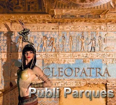 Cleopatra el nuevo espectáculo de Terra Mítica