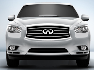 2013 Infiniti JX35 silver white