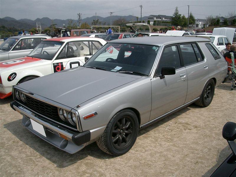 Nissan Skyline Wagon C230, mało znane kombi, ciekawe klasyki, japońskie samochody