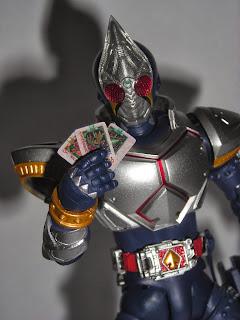 Kamen Rider Blade draws some cards