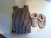 lige strikket