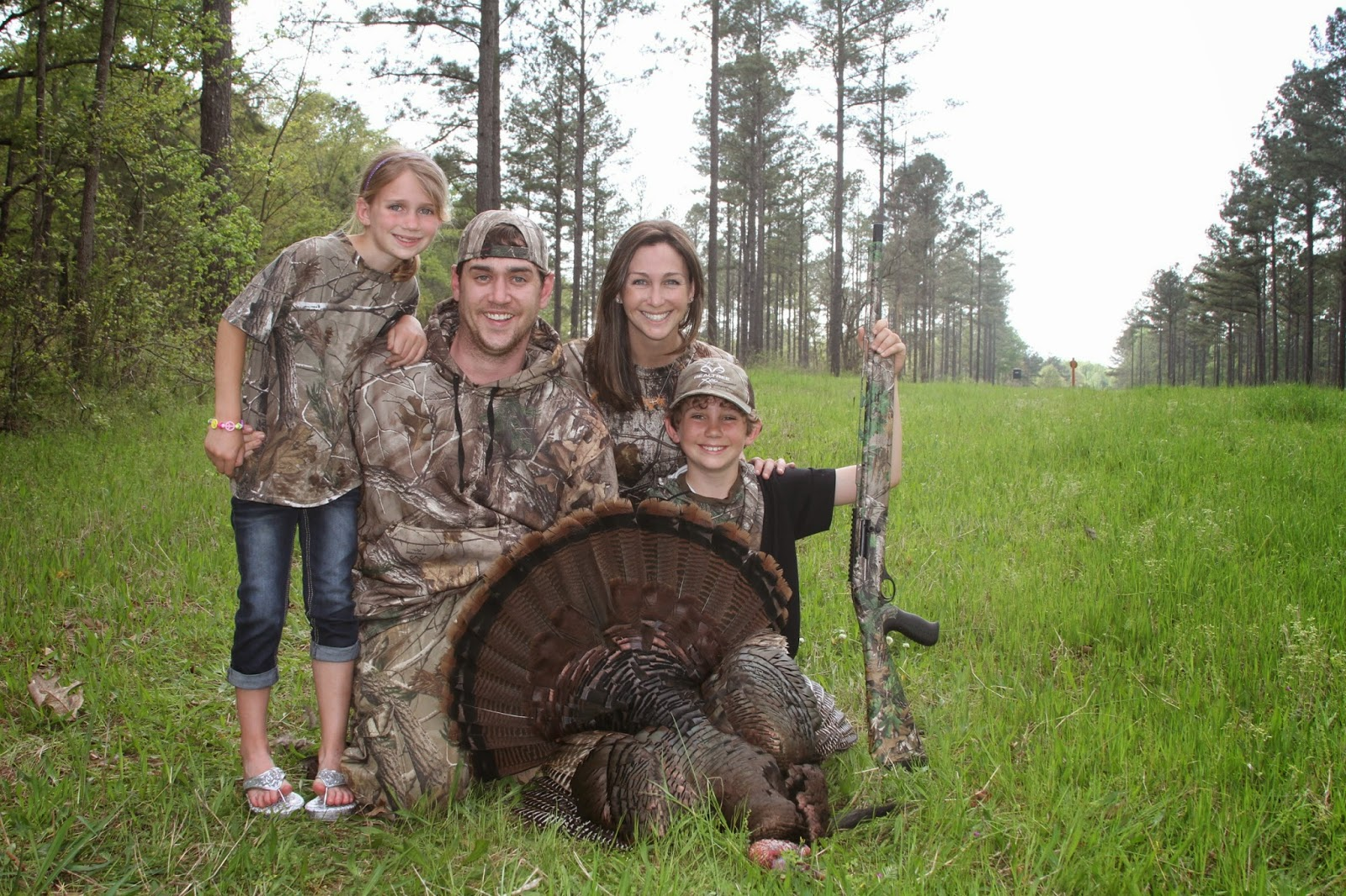Haley Heath family hunt