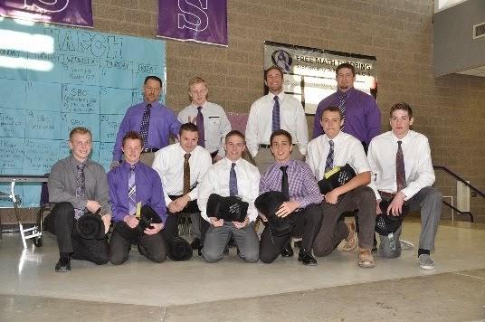 2013-14 Outgoing Varsity Wrestlers