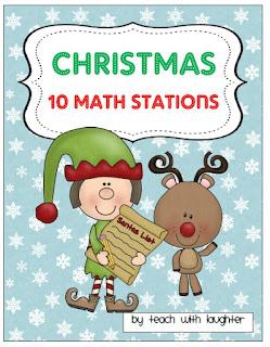 http://www.teacherspayteachers.com/Product/Christmas-Math-10-Work-Stations-399712