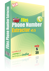 Extract phone numbers in bulk from multiple files