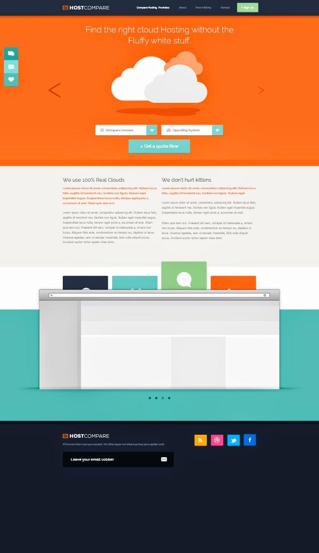Free-Hosting-Web-Design-Free-PSD
