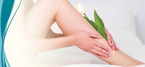 masaje para combatir varices en las piernas