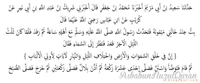 Quran Surat ali 'Imran ayat 190