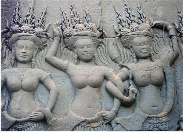 groupe-apsaras-bas-relief-angkor-vat