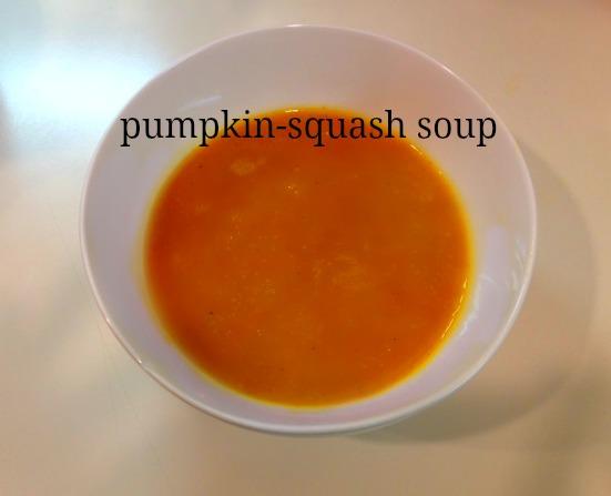 pumpkin-squash soup, pumpkin soup