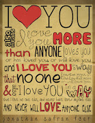 I love You Sooo Much! love you quote by twinner ehm
