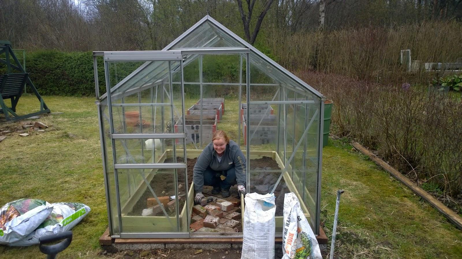 Växthus Odla : Bar dethär med att odla