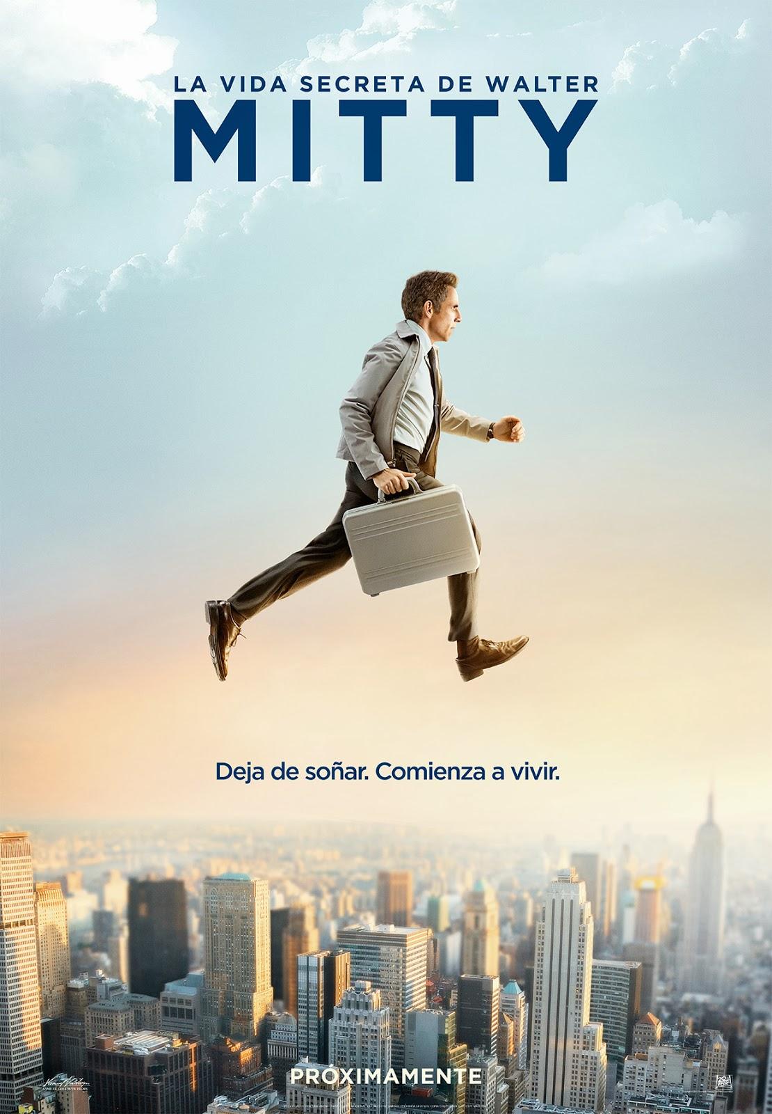 La Vida Secreta De Walter Mitty (La Increíble Vida de Walter Mitty) (2013)