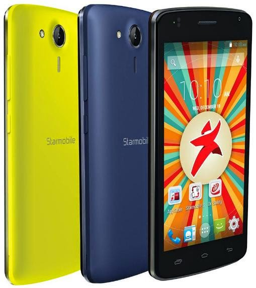 Starmobile Jump Max, Dual Core with Huge 3000mAh Battery