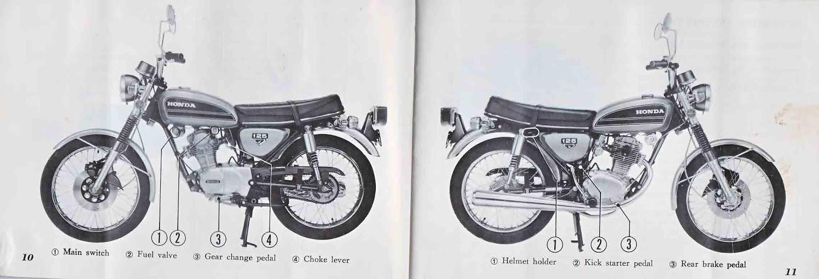 ob1 repairs  honda cb125s owner u0026 39 s manual