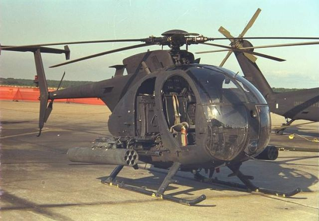 AH-6 Little Bird Small Tactical Helicopter