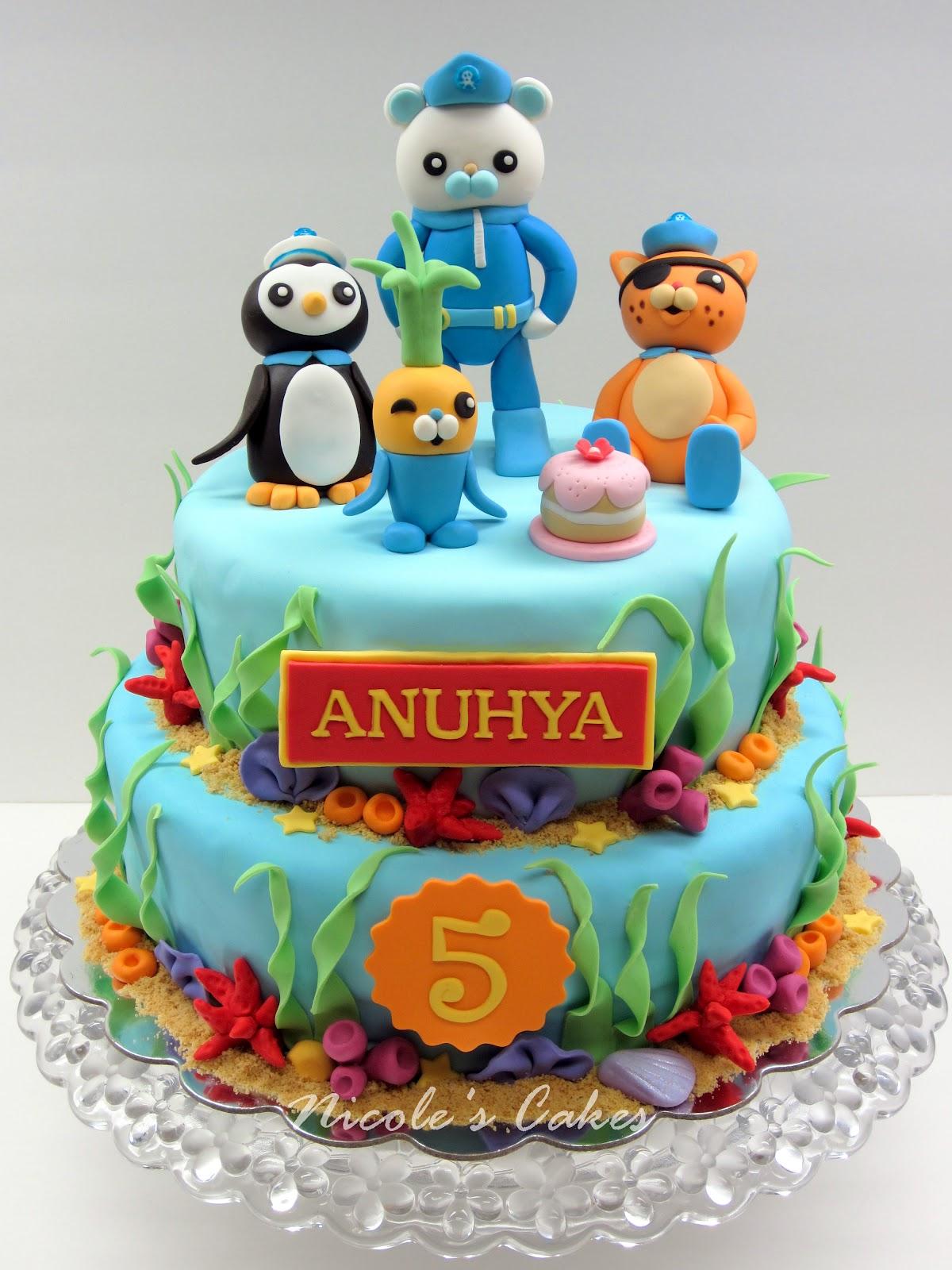 Octonauts Cake Decorations Uk : Confections, Cakes & Creations!: The Octonauts Cake!