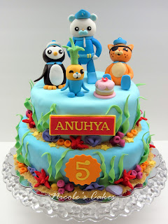 Confections Cakes Amp Creations The Octonauts Cake