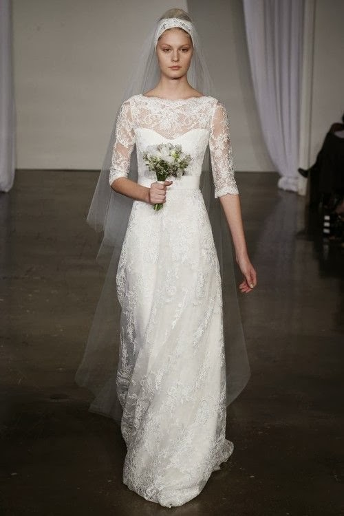 Vestido Marchesa Bridal A/W 2013 por Deseos de Boda