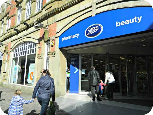 Boots Store Entrance Shop Mealhouse Lane Bolton