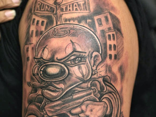 Clown Tattoo Designs And Pictures