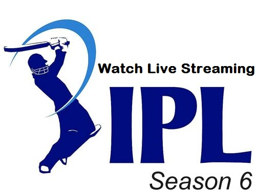 Watch Indian Premier League - IPL 6 / 2013 Live Streaming Online for Free