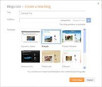 Memberikan Judul Blog