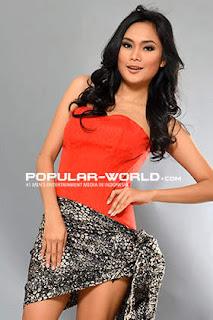 Laila Fitria Model Majalah Popular World, BFN Mei 2013
