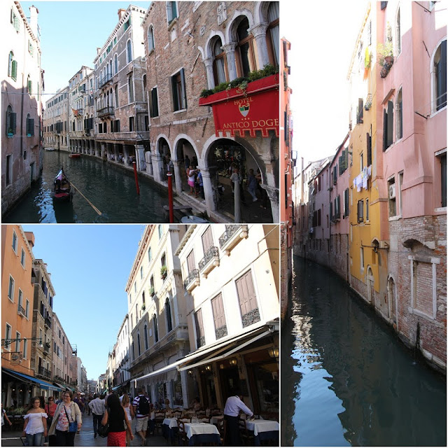 Shopping, dinning and riding on gondola are the main activities to do in Venice, Italy