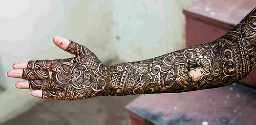 Henna Full Arm Designs These Full Arm Mehndi Designs