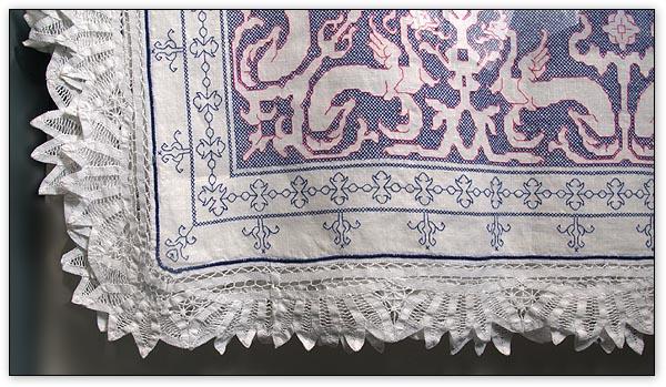 Схемы для вышивки салфеток в
