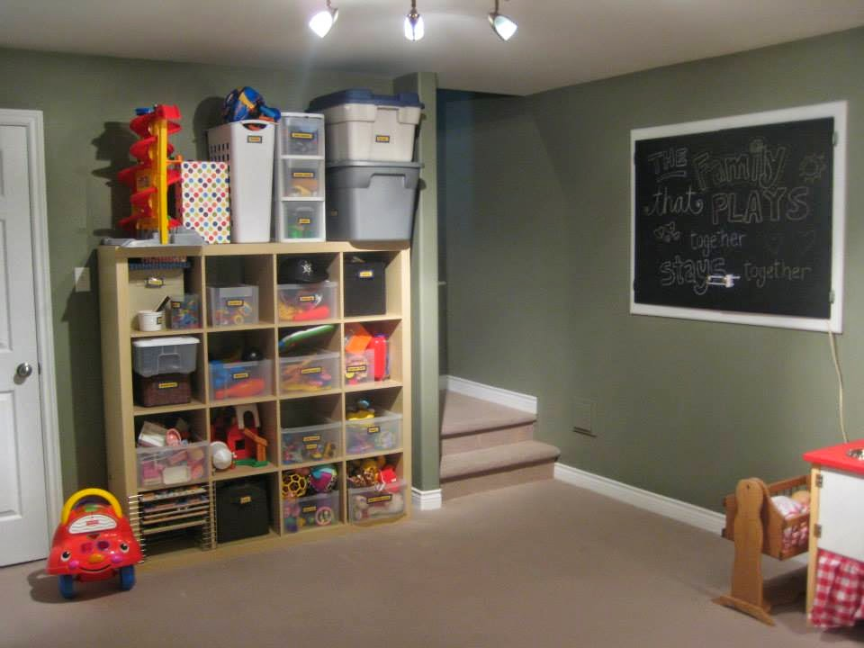 Our basement toyroom