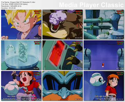 Download Film / Anime Dragon Ball GT Episode 21 Bahasa Indonesia