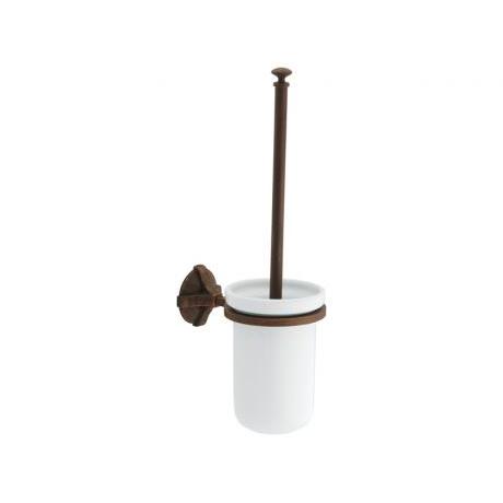 escobillero rustico baño forja